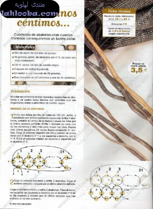 من الخرز مفارش من الخرز اساور برازيليه