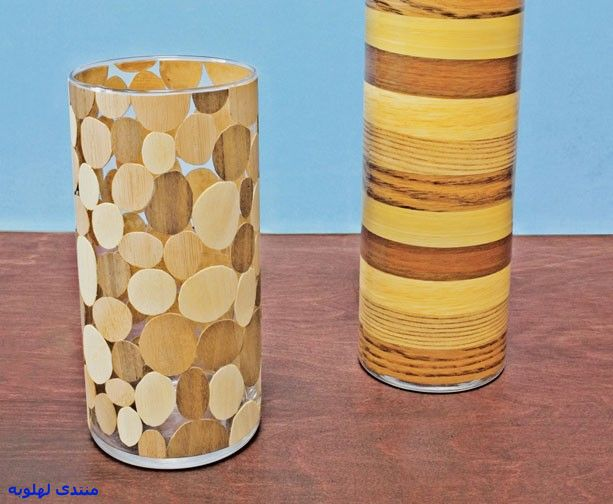Как сделать вазу из кружочков