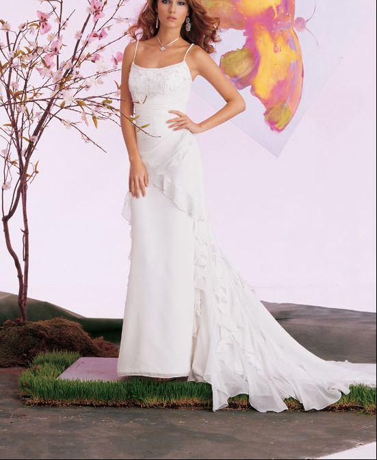 b71596970f8c0 كولكشن فساتين زفاف بسيطة وناعمة للعروس ، فساتين عرايس 2013