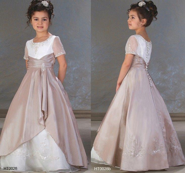 d5cfa8f8ec5b0 فساتين سهرة للاطفال - فساتين زفاف للاطفال