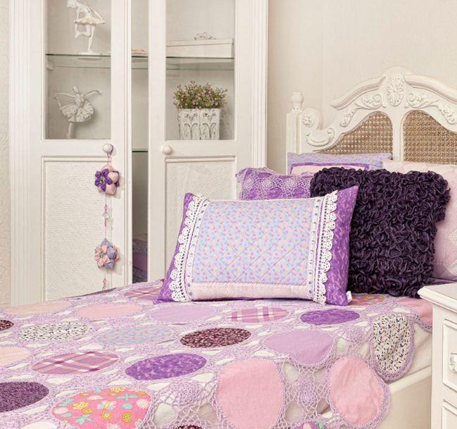 مفارش سرير كروشيه