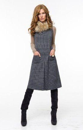Теплые Платья Для Женщин Купить