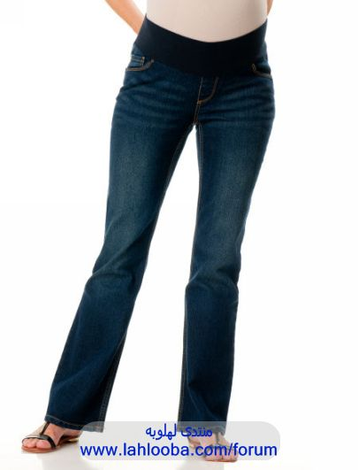 3c30df835e8ac بناطيل جينزات للحوامل ، بناطيل جينز للحوامل ، سراويل جينز